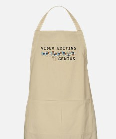 Video Editing Genius BBQ Apron