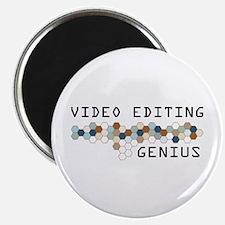 Video Editing Genius Magnet