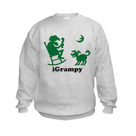 iGrampy-original Kids Sweatshirt