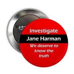 Investigate Jane Harman political button