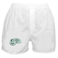 Racquetball Player Voice Boxer Shorts