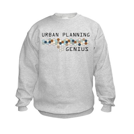 Urban Planning Genius Kids Sweatshirt