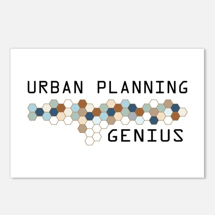 Urban Planning Genius Postcards (Package of 8)