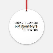 Urban Planning Genius Ornament (Round)