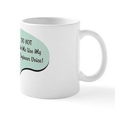 QA Engineer Voice Small Mug