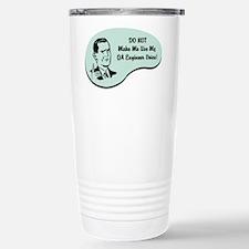 QA Engineer Voice Travel Mug