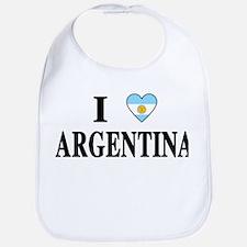 I Heart Argentina Bib