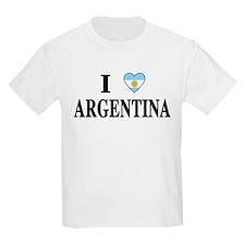I Heart Argentina Kids T-Shirt