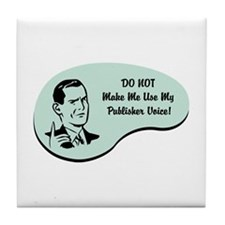 Publisher Voice Tile Coaster