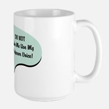 Professor Voice Large Mug