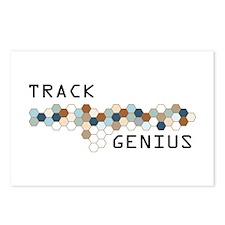 Track Genius Postcards (Package of 8)