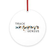 Track Genius Ornament (Round)