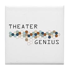 Theater Genius Tile Coaster