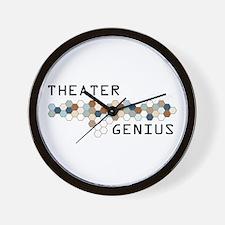 Theater Genius Wall Clock