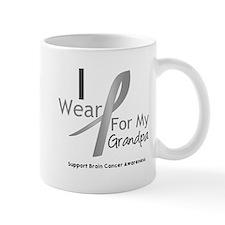 Gray Ribbon Grandpa Mug