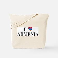 I Heart Armenia Tote Bag