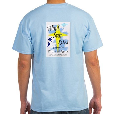 Light T-Shirt, w/ design on Front & Back