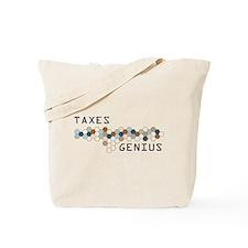 Taxes Genius Tote Bag