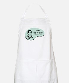 Plumber Voice BBQ Apron