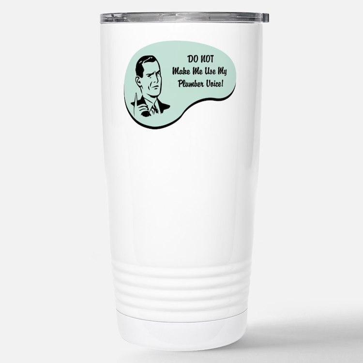 Plumber Voice Travel Mug