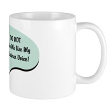 Plasterer Voice Mug