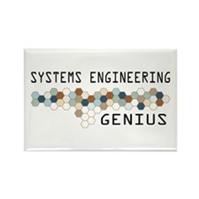 Systems Engineering Genius Rectangle Magnet