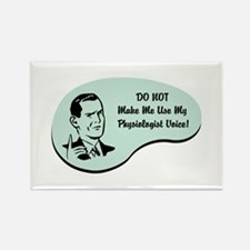 Physiologist Voice Rectangle Magnet