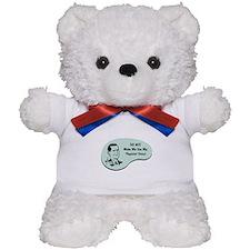 Physicist Voice Teddy Bear