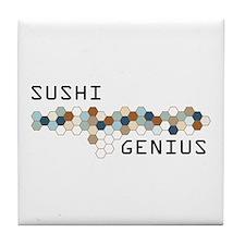 Sushi Genius Tile Coaster
