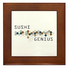 Sushi Genius Framed Tile