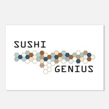 Sushi Genius Postcards (Package of 8)