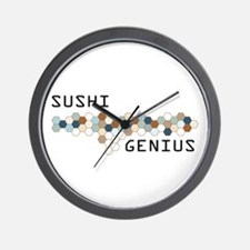 Sushi Genius Wall Clock
