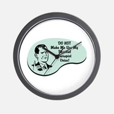 Physical Therapist Voice Wall Clock
