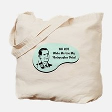 Photographer Voice Tote Bag
