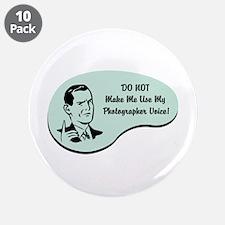 "Photographer Voice 3.5"" Button (10 pack)"