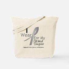 Gray Ribbon Granddaughter Tote Bag