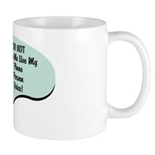 Phone Person Voice Mug