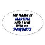 my name is martina and I live with my parents Stic