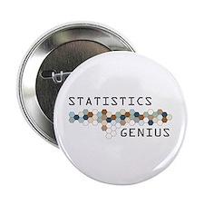 """Statistics Genius 2.25"""" Button"""