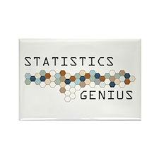 Statistics Genius Rectangle Magnet (10 pack)