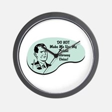 Patent Attorney Voice Wall Clock