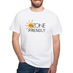 Ozone Friendly White T-Shirt