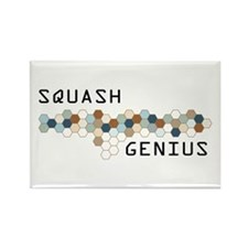 Squash Genius Rectangle Magnet