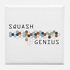 Squash Genius Tile Coaster