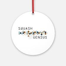 Squash Genius Ornament (Round)