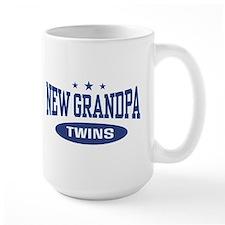 New Grandpa Twins Mug