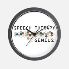 Speech Therapy Genius Wall Clock