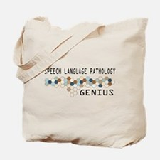Speech Language Pathology Genius Tote Bag