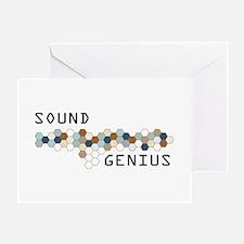 Sound Genius Greeting Card