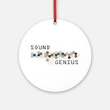 Sound Genius Ornament (Round)